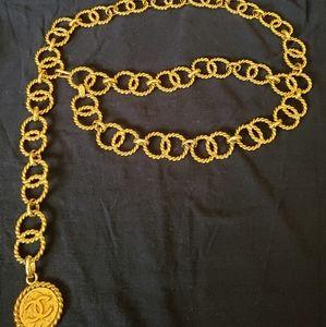 Chanel Interlinking Chain Belt
